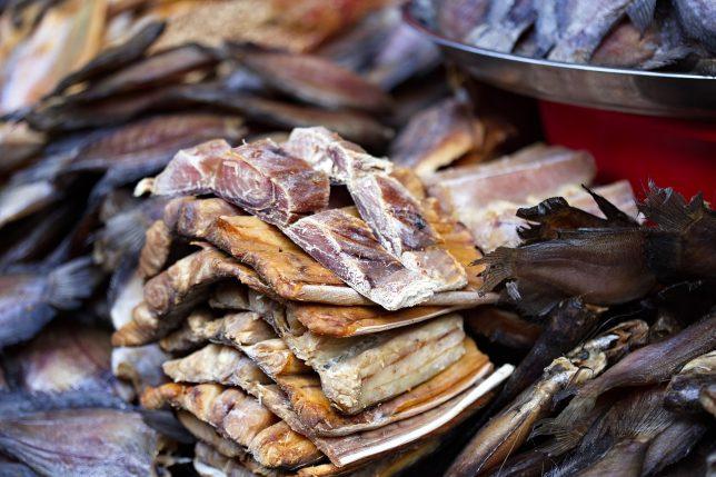 漬け物だけじゃない! 魚の干物 もがんの嫌がる発酵食品